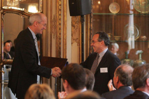 Sir David Higgins CBE, Chairman, HS2 and Douglas Blausten